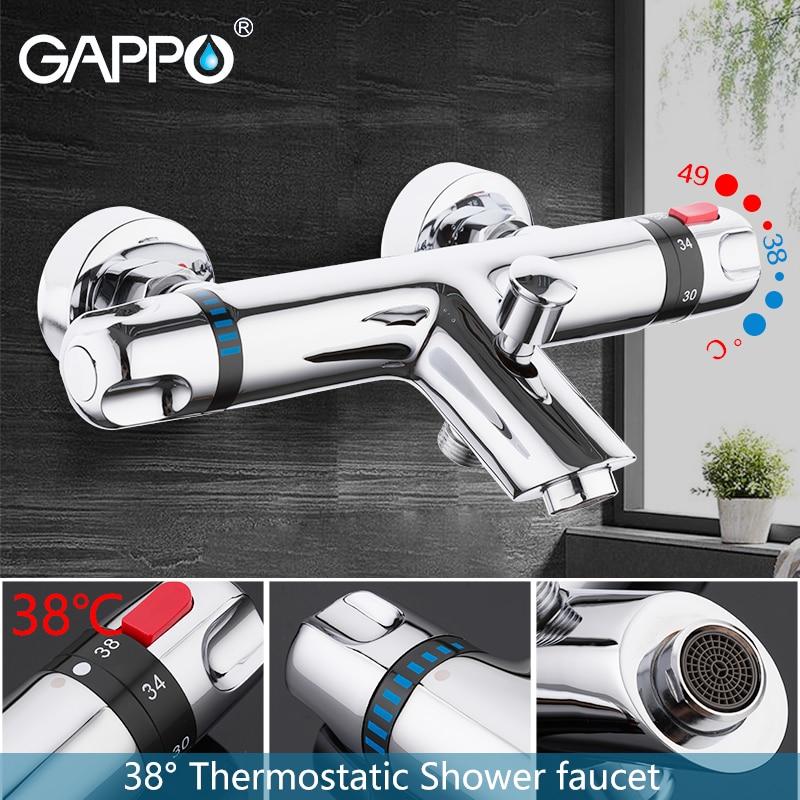 GAPPO bathtub faucet thermostatic mixer faucet bathroom mixer tap bath faucets Waterfall taps bath b