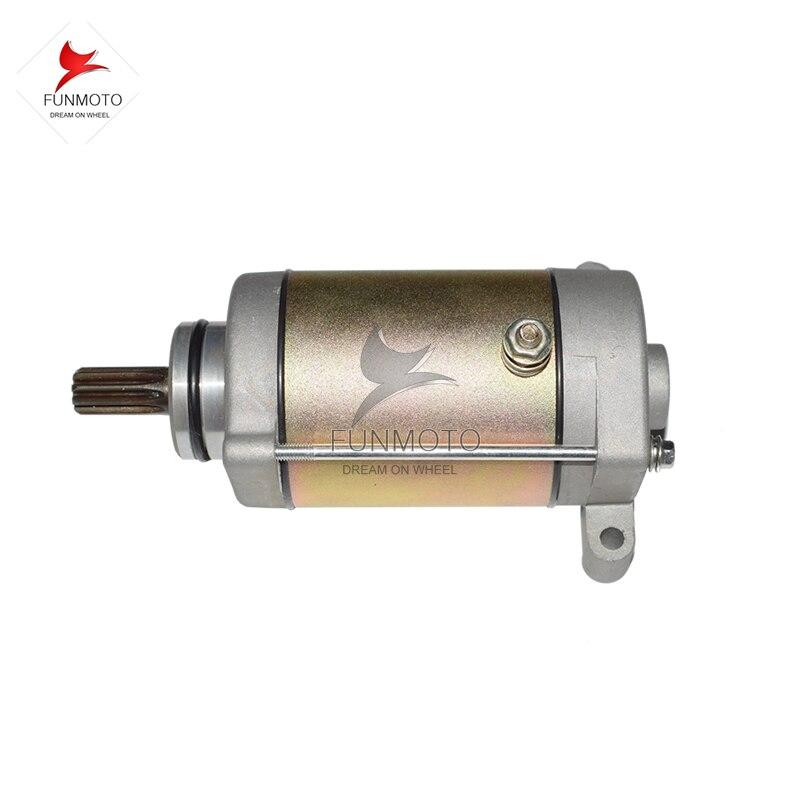 Пусковой двигатель CF MOTO CF500 ATV CF188 двигатель 500ATV Пусковой двигатель запчасти код 0180-091100-0010 зубьев 9
