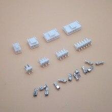 Lot de 10 connecteurs VH 3.96mm 2P 3P 4P 5P   6 broches mâle + boîtier femelle + bornes connecteur VH3.96