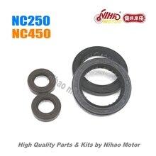 23 NC250 NC450 Parti di Albero Motore paraolio Motore ZONGSHEN ZS177MM NC RX3 ZS177MM (Nihao Motore) KAYO Motoland BSE Megelli Asiawing