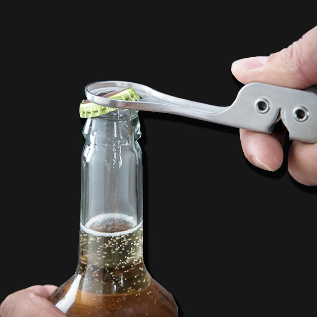 Práctico Abrelatas pinzas Abridor de botellas Abrelatas Clip de plato Abrelatas Herramientas...