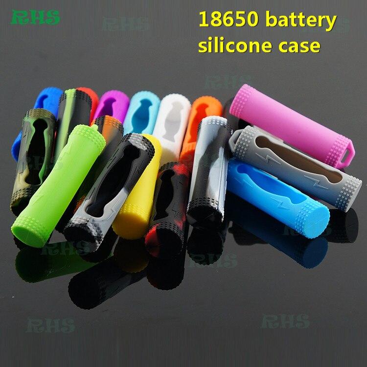 500 Uds de alta tasa de litio 18650 batería de iones de litio funda de silicona/Piel/manga/calcomanía/cubierta para monociclo alimentado batería 36v
