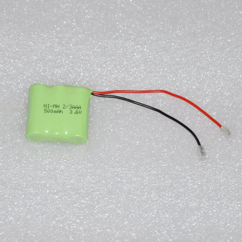 2 шт., аккумуляторные батарейки 2,4 В 3,6 В 4,8 В 2/3 ААА, 500 мАч 2/3 AAA Ni-MH nimh, для беспроводных телефонов