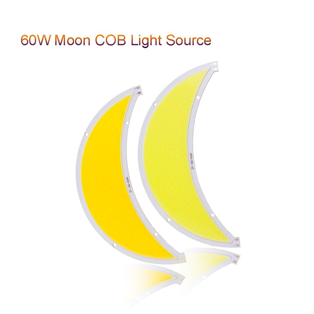 1 Uds. Módulo LED de mazorca de Luna 60W Flip led panel de luces DC12-14V L180MM farola pecera decoración de jardín VR