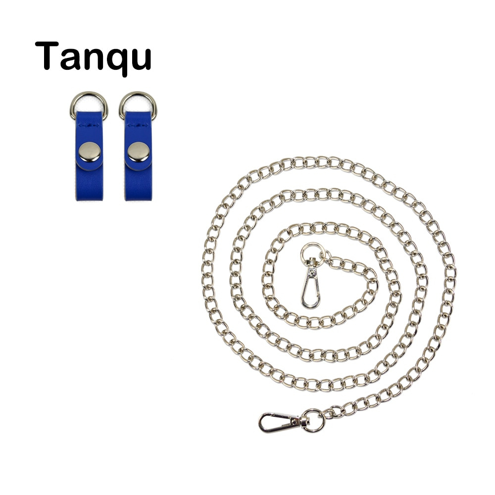 TANQU Серебряная Золотая металлическая цепь крюк с застежкой из искусственной кожи для OPocket Obag O Bag