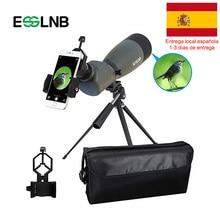 20-75x70 télescope étanche à angle de 45 degrés avec lunette de voyage BAK4 prisme FMC télescope monoculaire