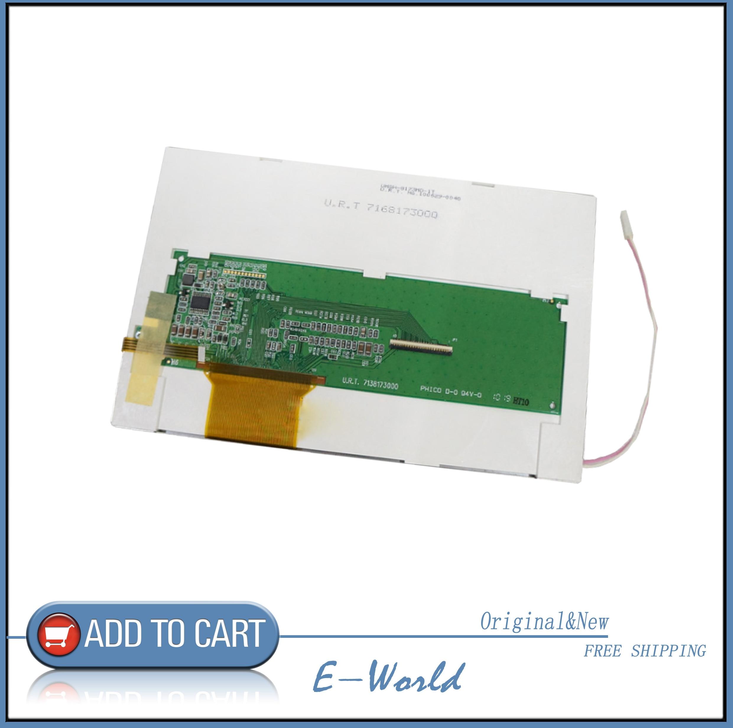 Original pantalla LCD de 7 pulgadas con pantalla táctil UMSH-8173MD-1T U.R.T NO.100629-0039 U.R.T 7168173000 envío gratis