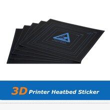 5 pcs/lot 3D imprimante partie bricolage 310*310*0.5mm Hotbed autocollant feuille de papier pour Wanhao i3 Anet A8 A6 3D imprimante construire la Surface de la plaque