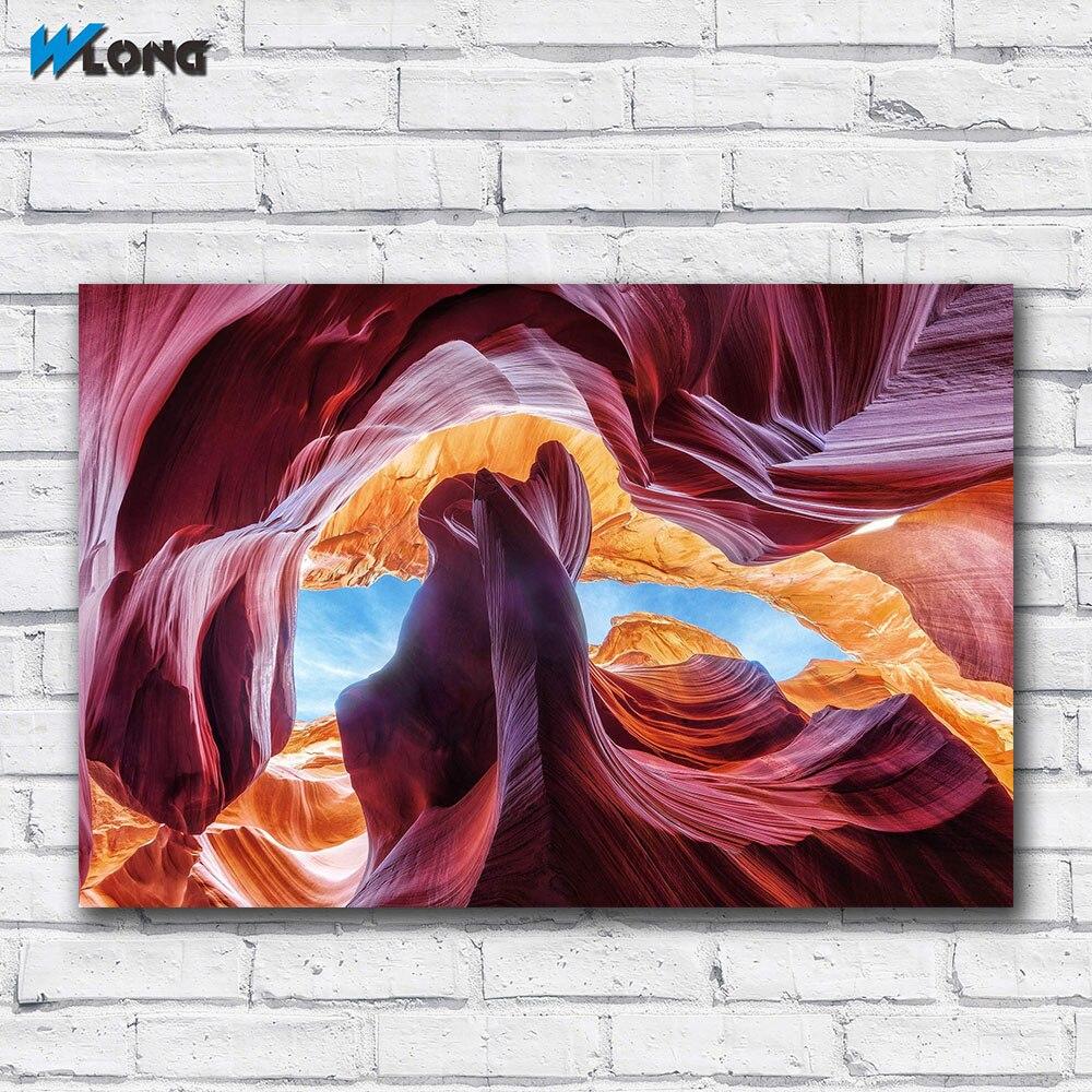 Impresión grande desértico-Descarga-fotografía de desierto cuadro de arte de pared decoración del hogar sala de estar lienzo moderno impreso sin cuadros