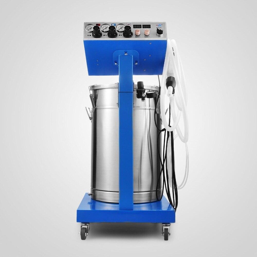 Nueva máquina de recubrimiento de polvo electrostático, sistema de pintura de pistola de pulverización, equipo de recubrimiento de polvo
