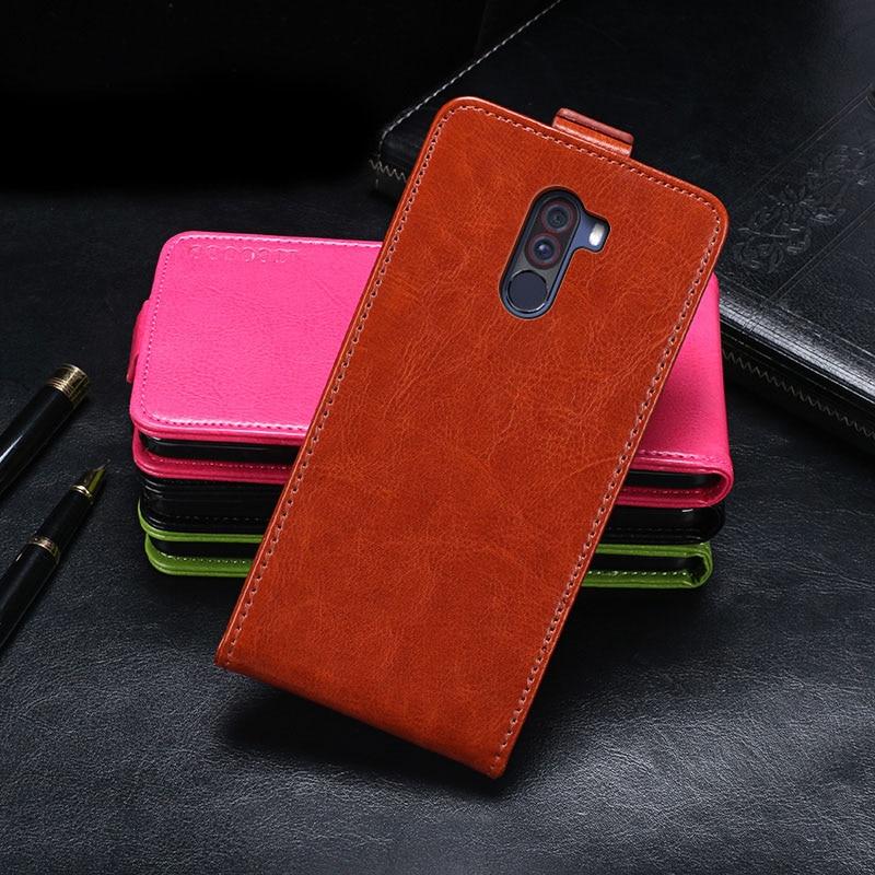 Xiaomi Pocophone F1 Case Cover Luxury Leather Flip Case For Xiaomi Pocophone F1 Protective Phone Cas