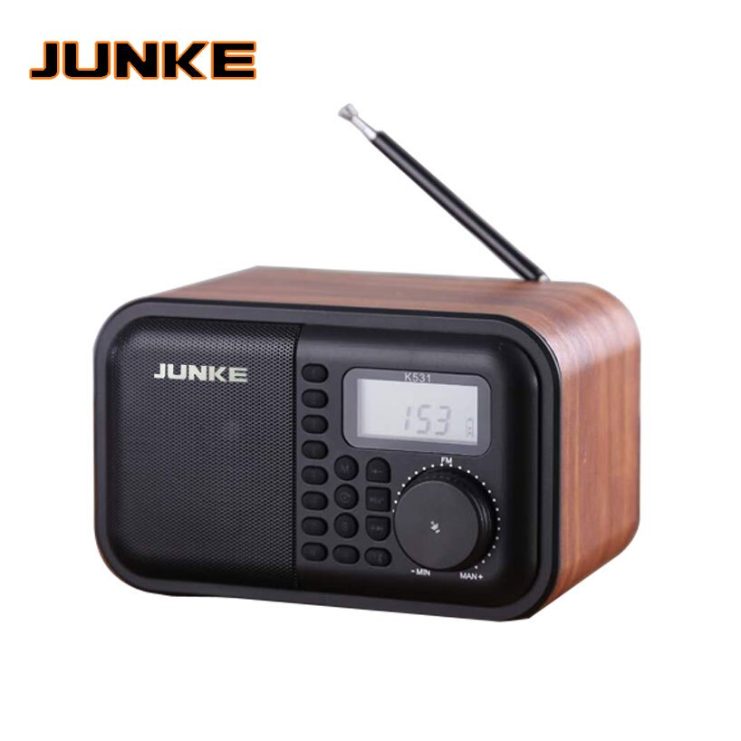 JUNKE деревянный bluetooth-динамик, Портативный HiFi динамик s TF Play, ручной звонок, AUX вход, супер бас, громкий динамик, колонка для компьютера