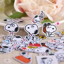 40 Stuks Leuke Naughty Anime Hond Mini Papier Stickers Ambachten En Scrapbooking Stickers Boek Decoratieve Sticker Diy Briefpapier