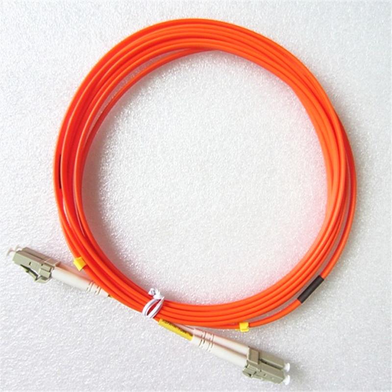OM2 fiber patch cord Multimode LC-LC Fiber Patch Cable UPC MM Optical Fiber jumper Duplex 3m 10m 30m