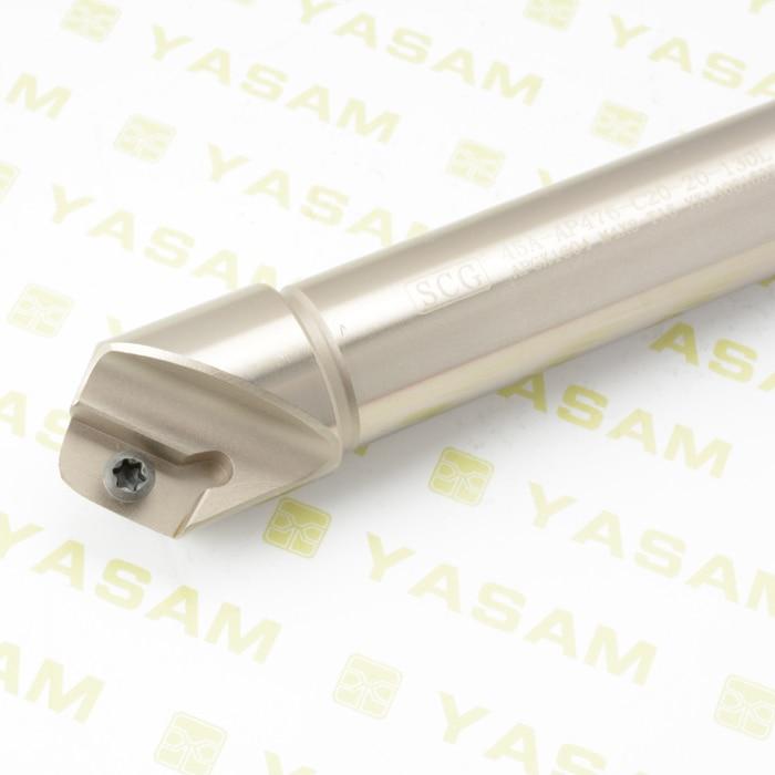 45A-AP476-C20-20-130L 45 درجة الشطب نهاية القاطع القاطع لأدراج كربيد APMT1604 المستخدمة