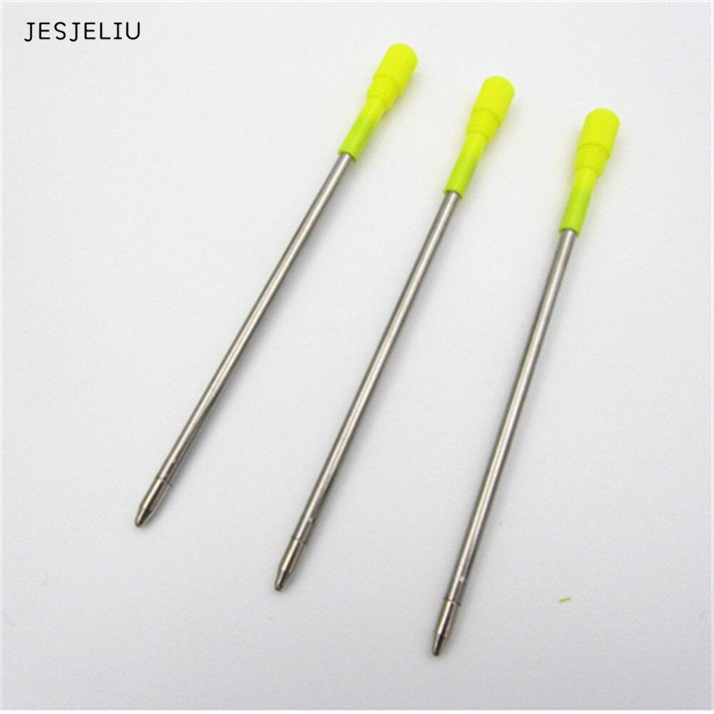 JESJELIU 10 teile/los kugelschreiber minen für swarovski kristall element strass diamant stift