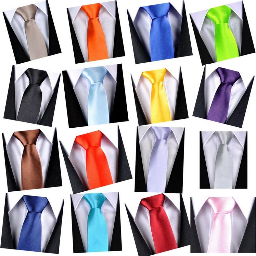 Slim Black Tie For Men 5cm Narrow Casual Arrow Skinny Red Necktie Man Accessories Simplicity For Party Formal Ties Fashion