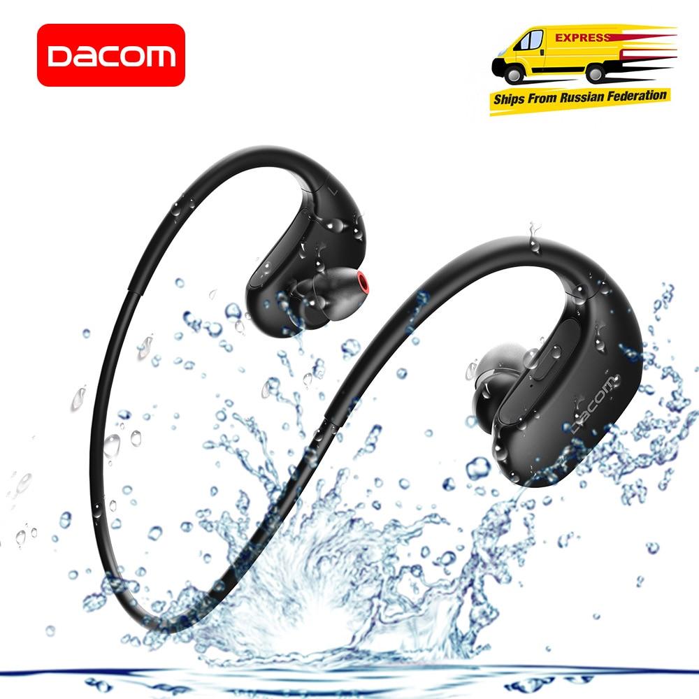 DACOM L05 باس الصوت الرياضة بلوتوث سماعة لاسلكية سماعة IPX7 مقاوم للماء ستيريو لاسلكي سماعة آيفون شاومي هواوي