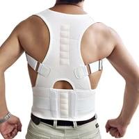 all fit in new men women adjustable magnetic posture corrector belt braces support corrector shoulder plus size b002