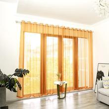 Plaid Window Curtain Bedroom Living Room Drape Home Hotel Balcony Patio Decor Curtains