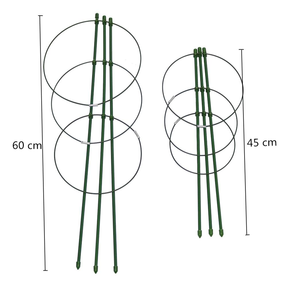 45cm / 60cm plezalna stojala za rastline v lončkih podporni okvir s - Vrtne potrebščine - Fotografija 2