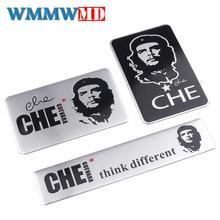 Auto styling 3D metall Che Guevara auto aufkleber kratzer abdeckung auto dekoration persönlichkeit kreative körper aufkleber Auto zubehör
