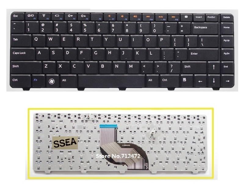 SSEA nuevo teclado Inglés para ordenador portátil para DELL N4010 N4020 M4010 N4030 N5020 N5030 M5030