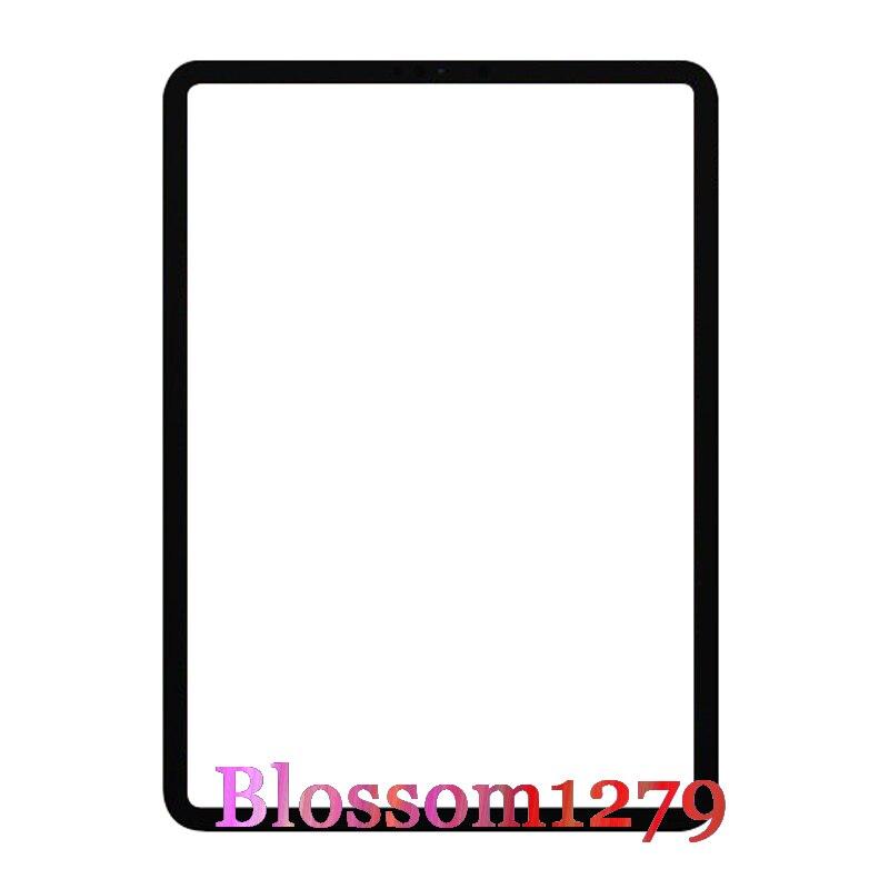 10 pces after-market vidro frontal (sem digitador do toque) painel de tela lcd exterior para apple ipad pro 11 1st gen a1980 a1934 a2013