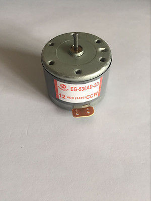 EG-530AD-2F/2B/6B/6F/9B/9F CCW CW 2400RPM 6V 9V 12V Recorder motor High Torque Cylinder Shaped Elect