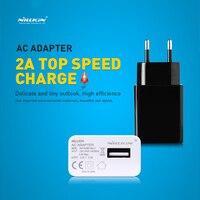 Сетевое зарядное устройство Nillkin 2017 а с вилкой для ЕС и США, адаптер переменного тока, USB-адаптер для путешествий, зарядное устройство для ...