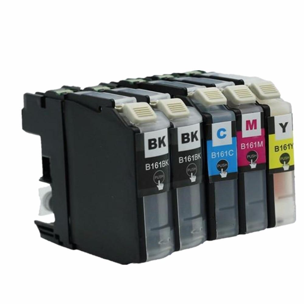 Reemplazo de LC163 LC-163 LC 163 XL LC163XL cartuchos de tinta, cartuchos de DCP-J152W DCPJ152W DCP J152W