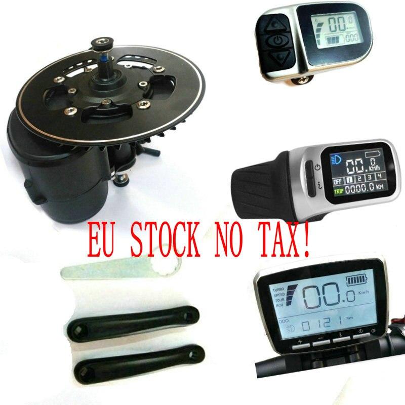 La UE no hay impuestos 36/48V/52V 250w/350/500W/750W TONGSHENG TSDZ2 Central Motor de Motor eBike Kit de Sensor de par