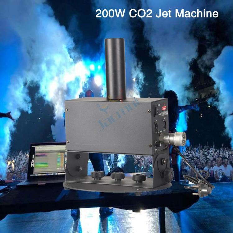 Большой 200 Вт вертикальный туман Дискотека DJ сценический Бар Клуб DMX газовая колонка машина сценический эффект CO2 струйная машина