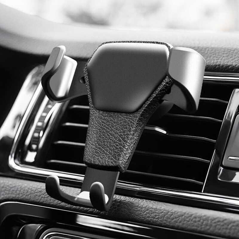 Soporte para teléfono de coche montaje en salida de aire de coche para Kia Rio K2 K3 Ceed Sportage 3 sorento cerato reposabrazos picanto alma optima