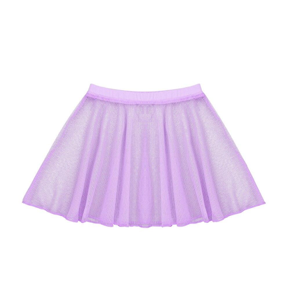 Kids Girls Sleeveless Costumes Splice Criss-cross Back Ballet Dance Gymnastics Leotard Ballerina Bodysuit with Mesh Skirt Set