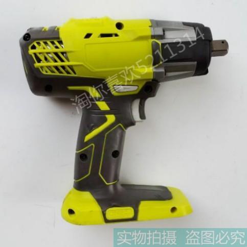 Auténtico nuevo tipo Liang Ming/18 V Ryobi Llave de impacto, pistola eléctrica grande, tres velocidades de parada, con luz LED (productos usados)
