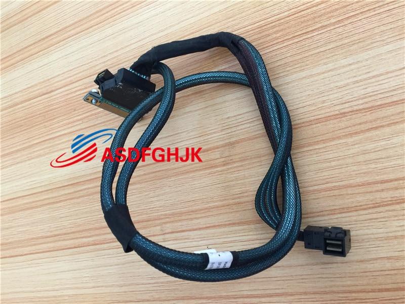 Genuino para Dell Poweredge R430 Dual Mini Sas Cable Hd 2x Sff-8643 conectores 7nkwc 07nkwc CN-07NKWC 100% bien probado