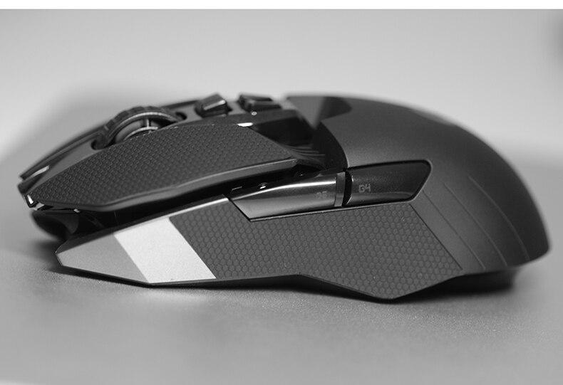 Для Logitech G903 G900 мышь Противоскользящая Лента эластичные утонченные боковые ручки пот упорные прокладки/анти пот паста