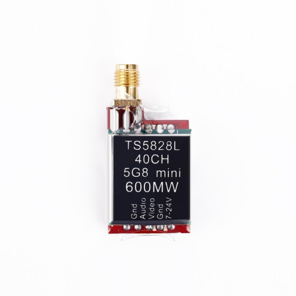 5,8G TS5823L TS5828L 200 МВт 600 мВт 40CH видео Отправитель Micro dravideo Zender модуль 5,8 ГГц VTX 180 -350 Квадрокоптер klase