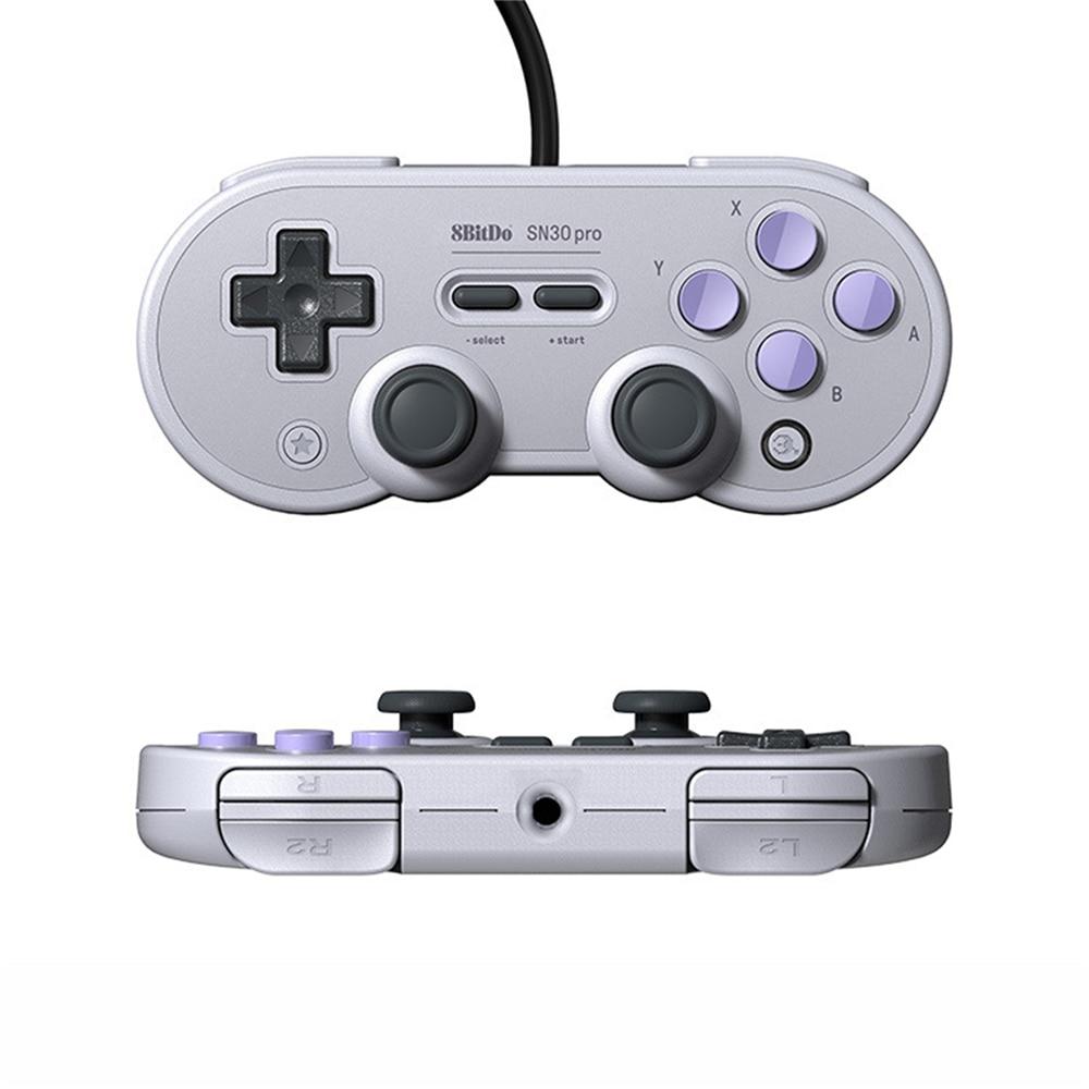 8 битдо SN30 Pro USB геймпад для Nintendo Switch Windows MacOS Android контроллер Джойстик Вибрация Bluetooth 4,0 проводной геймпад