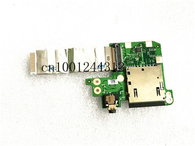 Nueva computadora portátil Original para Lenovo ThinkPad T480S SD AUDIO IO BOARD Cable NS-B472 SC10G75218 01LX984 01LX983