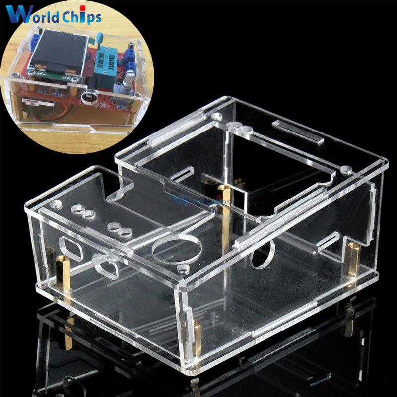 Корпус Корпуса для TFT GM328 тестер транзисторов диод LCR ESR метр ШИМ квадратная волна DIY Kit
