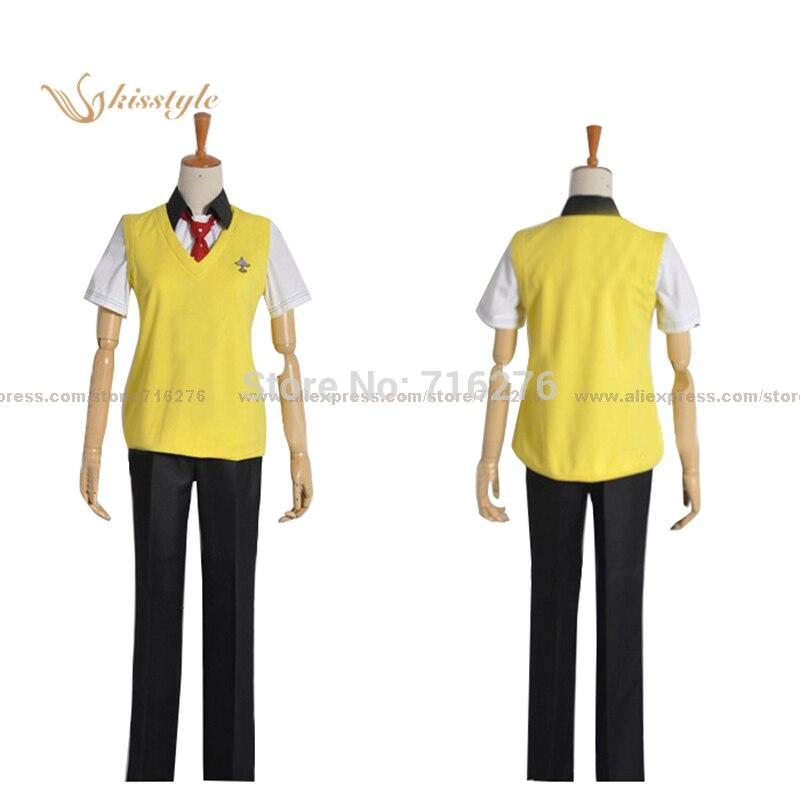 ¡Moda kisstyle gratis! Anime Nagisa Hazuki Rei Ryugazaki, uniforme de verano de escuela secundaria, disfraz de Cosplay hecho a medida