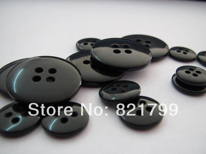 Botón de 4 agujeros 32L para botones de resina de ropa para abrigo Botón de plástico pan de juguete