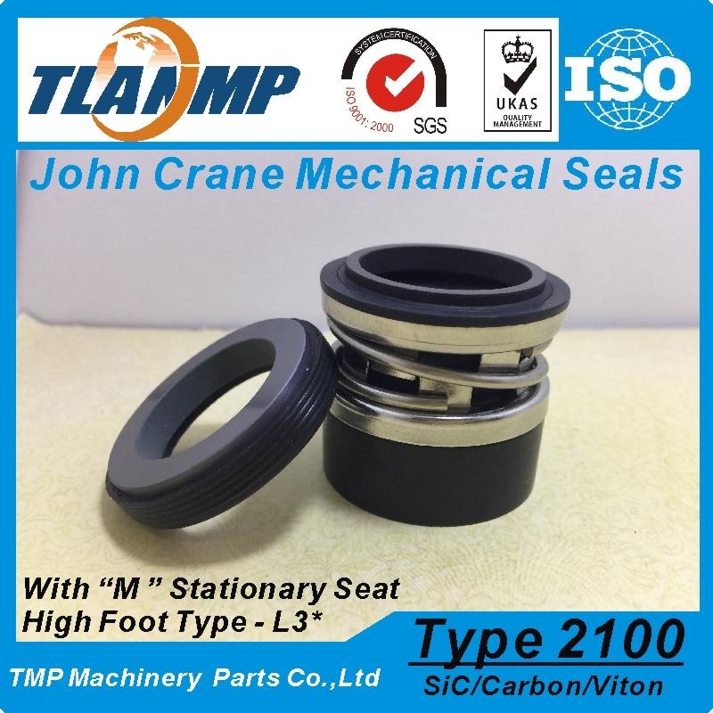 Sellos de fuelle de elastómero tipo 2100-2-20 , 2100K-20 , 2100-20 (L3 *) John Crane TLANMP juntas mecánicas