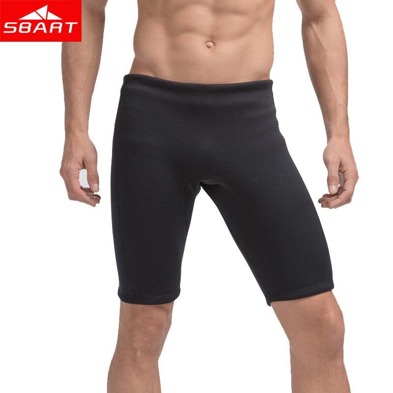 Sdart hombres natación jammer 3MM neopreno bañador con filtro solar traje de baño natación playa pantalones cortos bañadores jammer gran tamaño L-4XL
