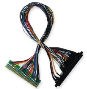 5 pcs 50cm Jamma harness extender/arcade accessories/extended wire/cable/parts for arcade game machine /Coin operator machine