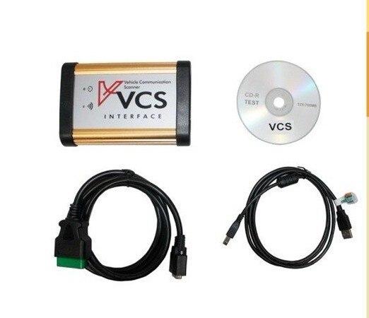 2019 super vcs comunicación del vehículo escáner interfaz de diagnóstico de coche sin bluetooth