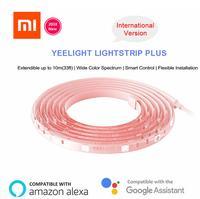 Новинка 2018, Светодиодная лента Xiaomi Mijia Yeelight плюс до 10 м, обновленная версия, умная удлинительная Светодиодная лента, световая лента, работает...