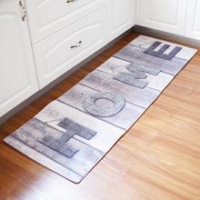 Tapis antidérapant de cuisine 60x180CM   Long tapis de porte, Style Vintage, tapis de cuisine antidérapant, tapis de chevet de chambre à coucher